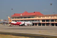 Διεθνής αερολιμένας Cochin Στοκ Φωτογραφίες