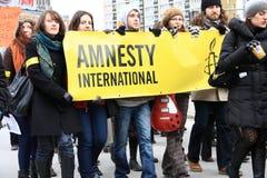 Διεθνής Αμνηστία Στοκ φωτογραφία με δικαίωμα ελεύθερης χρήσης