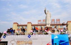 διεθνής δεσποινίδα chengdu στοκ φωτογραφίες