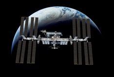 Διεθνής Διαστημικός Στα&the Στοκ εικόνες με δικαίωμα ελεύθερης χρήσης