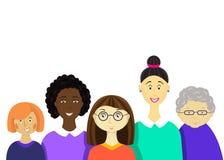 Διεθνής ημέρα γυναικών ` s απεικόνιση αποθεμάτων