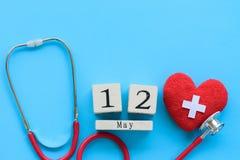 Διεθνής ημέρα νοσοκόμων, στις 12 Μαΐου Υγειονομική περίθαλψη και ιατρική έννοια Στοκ φωτογραφία με δικαίωμα ελεύθερης χρήσης