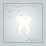 Διεθνής ημέρα οδοντιάτρων Στοκ Φωτογραφία