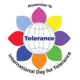 Διεθνής ημέρα της ανοχής Στοκ Φωτογραφίες