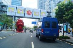 Διεθνής δημιουργική εβδομάδα δραστηριότητας Shenzhen Στοκ Εικόνες