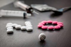 Διεθνής κανένα φάρμακο και ιατρικός Στοκ φωτογραφία με δικαίωμα ελεύθερης χρήσης