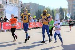 Διεθνής μαραθώνιος Kharkov 2018 Στοκ εικόνα με δικαίωμα ελεύθερης χρήσης