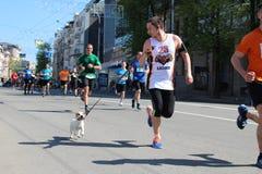Διεθνής μαραθώνιος Kharkov 2018 Στοκ Φωτογραφίες