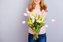 Διεθνής μητρότητα φρεσκάδας ανθών άνθισης Καλλιεργημένο closeu Στοκ φωτογραφία με δικαίωμα ελεύθερης χρήσης