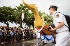 19 11 2017 διεθνής ναυτική, διεθνής παρέλαση επετείου της ASEAN ` s 50 αναθεώρησης 2017 στόλου σε Pattaya, Ταϊλάνδη Στοκ Φωτογραφίες
