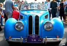 Διεθνής παλαιά συνάθροιση «Ρήγα αναδρομικό» το 2013 μηχανοκίνητων οχημάτων Στοκ Εικόνες