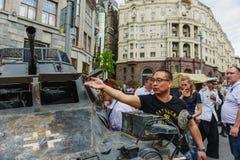 Διεθνής στρατιωτικός εξοπλισμός φεστιβάλ Στοκ φωτογραφίες με δικαίωμα ελεύθερης χρήσης
