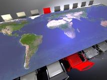 διεθνής συνεδρίαση διανυσματική απεικόνιση