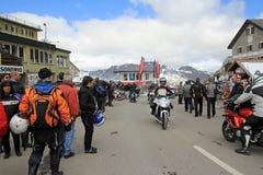 Διεθνής συνεδρίαση των μοτοσικλετών στοκ εικόνα με δικαίωμα ελεύθερης χρήσης