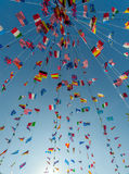 Διεθνής του χωριού γιορτή Στοκ Φωτογραφίες