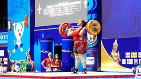 Διεθνή παγκόσμια πρωταθλήματα 2017 νεολαίας ομοσπονδίας IWF Weightlifting απόθεμα βίντεο