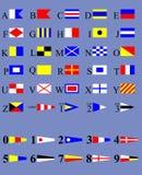 διεθνή σήματα κώδικα Στοκ Εικόνα