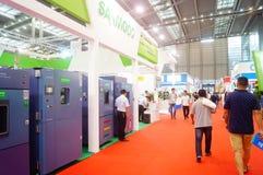 Διεθνείς διάσκεψη/έκθεση ανταλλαγής τεχνολογίας μπαταριών της Κίνας (CIBF) Στοκ Φωτογραφίες