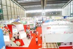 Διεθνείς διάσκεψη/έκθεση ανταλλαγής τεχνολογίας μπαταριών της Κίνας (CIBF) Στοκ Εικόνα
