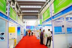 Διεθνείς διάσκεψη/έκθεση ανταλλαγής τεχνολογίας μπαταριών της Κίνας (CIBF) Στοκ Εικόνες