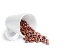 Διεσπαρμένα σιτάρια του καφέ Στοκ εικόνα με δικαίωμα ελεύθερης χρήσης