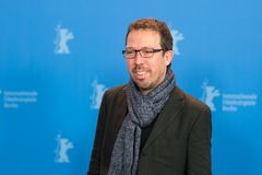 Διευθυντής και screenwriter Marcelo Martinessi σε Berlinale 2018 Στοκ εικόνα με δικαίωμα ελεύθερης χρήσης