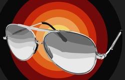 Διευκρινισμένα γυαλιά ηλίου Στοκ Φωτογραφίες