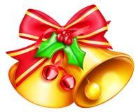Διευκρινισμένα κουδούνια Χριστουγέννων Στοκ φωτογραφία με δικαίωμα ελεύθερης χρήσης