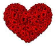 Καρδιά των λουλουδιών διανυσματική απεικόνιση