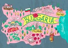 Διευκρινισμένος χάρτης ελεύθερη απεικόνιση δικαιώματος