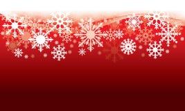 Διευκρινισμένο διανυσματικό πρότυπο ενός υποβάθρου Χριστουγέννων με Snowflakes Στοκ εικόνα με δικαίωμα ελεύθερης χρήσης