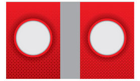 Διευκρινισμένο κόκκινο υπόβαθρο για τις ευχετήριες κάρτες και άλλα πρότυπα σχεδίου Στοκ φωτογραφίες με δικαίωμα ελεύθερης χρήσης