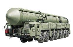 Διηπειρωτικός βαλλιστικός πύραυλος κινητός Στοκ φωτογραφίες με δικαίωμα ελεύθερης χρήσης