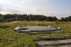 Διηπειρωτικός βαλλιστικός πύραυλος σιλό κάλυψης Στοκ Εικόνα