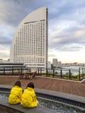 Διηπειρωτικό μεγάλο ξενοδοχείο Yokohama, Ιαπωνία Στοκ Εικόνες