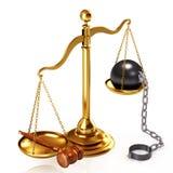 δικαιοσύνη έννοιας Στοκ Φωτογραφία