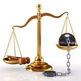 δικαιοσύνη έννοιας Στοκ φωτογραφίες με δικαίωμα ελεύθερης χρήσης