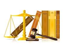 δικαιοσύνη έννοιας διανυσματική απεικόνιση