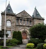 Δικαστήρια νόμου Βρετανικής Κολομβίας σε Nanaimo Στοκ Φωτογραφίες