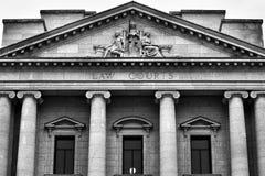 Δικαστήρια νόμου στοκ φωτογραφίες