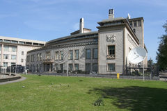 δικαστήριο Γιουγκοσλ στοκ εικόνες
