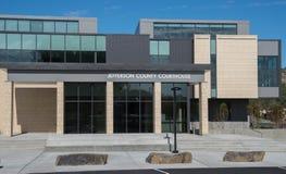 Δικαστήριο κομητειών του Jefferson στο Μάντρας, Όρεγκον Στοκ Εικόνες