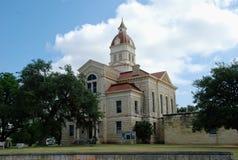 Δικαστήριο κομητειών Bandera, Bandera, Τέξας, ΗΠΑ στοκ εικόνες με δικαίωμα ελεύθερης χρήσης
