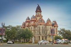 Δικαστήριο κομητειών Caldwell σε Lockhart Τέξας Στοκ Φωτογραφίες