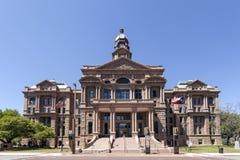 Δικαστήριο κομητειών Tarrant στο Fort Worth, ΗΠΑ στοκ φωτογραφίες