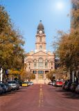 Δικαστήριο κομητειών Tarrant στο Fort Worth Τέξας στοκ φωτογραφία με δικαίωμα ελεύθερης χρήσης