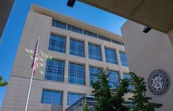 Δικαστήριο κομητειών Washoe σε Reno, Νεβάδα Στοκ Εικόνες