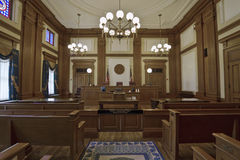 δικαστήριο οικοδόμησης  Στοκ Εικόνες
