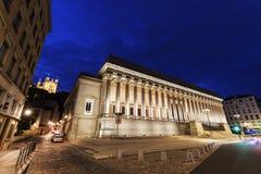 Δικαστήριο στη Λυών Στοκ Εικόνα