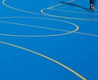 Δικαστήριο σφαιρών καλαθιών Στοκ φωτογραφία με δικαίωμα ελεύθερης χρήσης